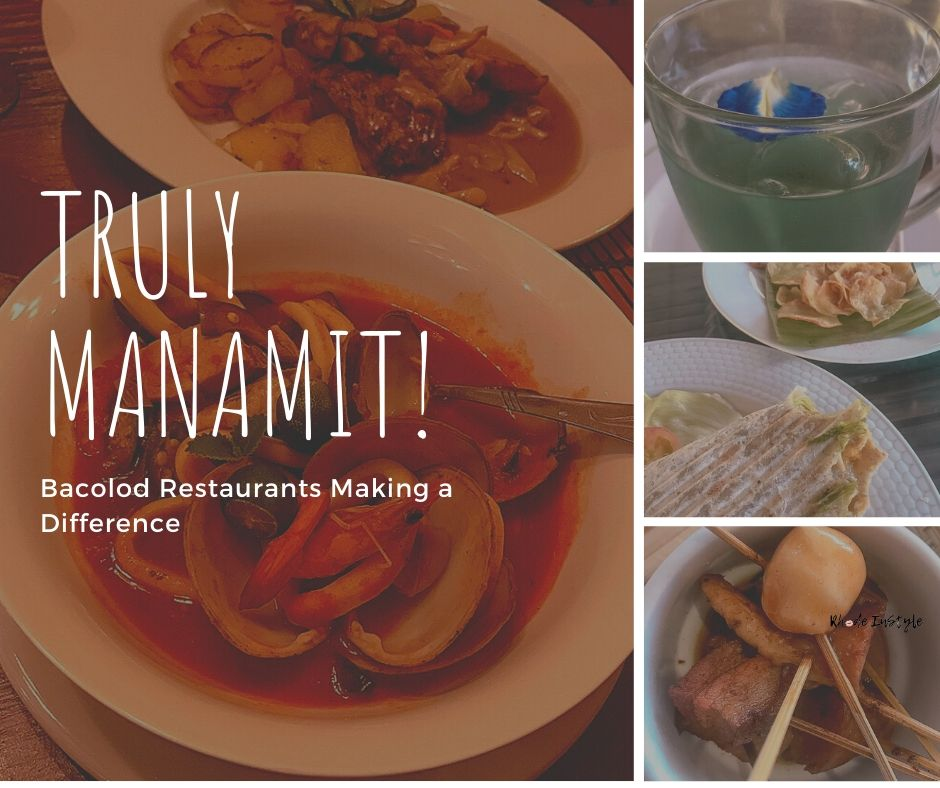 Photo of food and title: Truly Manamit: Bacolod Restaurants Making a Difference